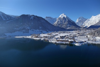 Pertisau am Achensee im Winter